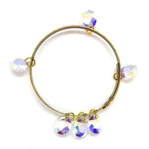 THUNDERBIRD OPAL DIAMOND BANGLE - NEW